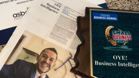 OYE Multicultural Small Business Wins Award from the Phoenix Journal