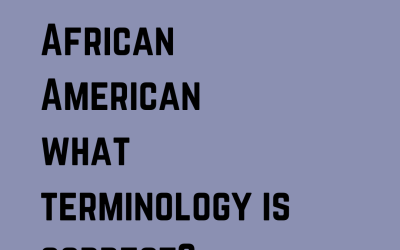Black or African American? – OYE Software Updates its Terminology