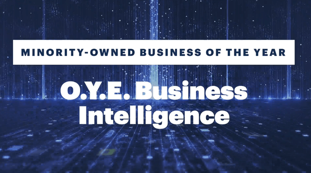 O.Y.E. Minority Owned Software Business of the Year